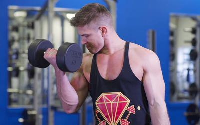 Scott Herman's High Volume Training Upper/Lower Workout
