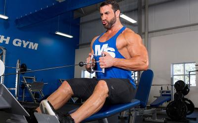 Upper/Lower Workout Routine for Tall Guys