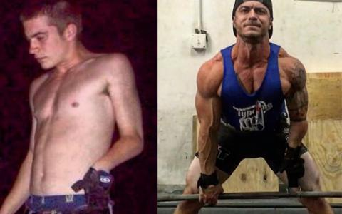 Body Transformation: An Adaptive Chris Ruden Perseveres