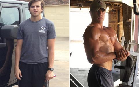 Body Transformation: Garrett Nutt Adds 26lbs of Muscle Mass!