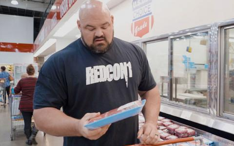 Grocery Shopping with The World's Strongest Man, Brian Shaw