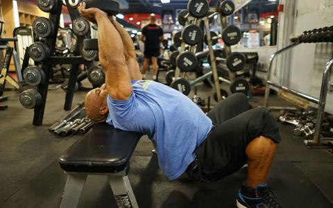 [Video] How to Perform Dumbbell Pullovers w/ Victor Martinez