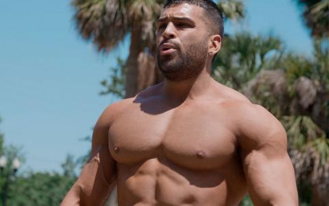 HIIT Outdoor Combat Cardio Workout w/ Gerardo Gabriel