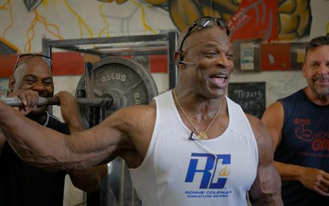 8X Mr. Olympia Ronnie Coleman's Memories at Metroflex Gym