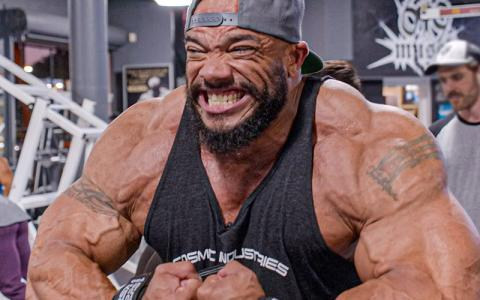 Sergio Oliva Jr's Chest Workout w/ Chris Cormier