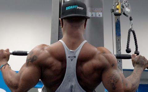 High Volume V Taper Back Workout w/ Brandon Hendrickson