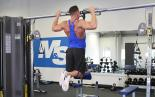 Resistance Band Assisted Pull Up (From Knee)