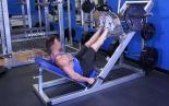 Narrow Stance 45 Degree Leg Press