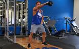 One Arm Kettlebell Swing