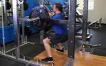 Rack Pin Front Squat