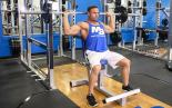 Seated Behind the Neck Shoulder Press