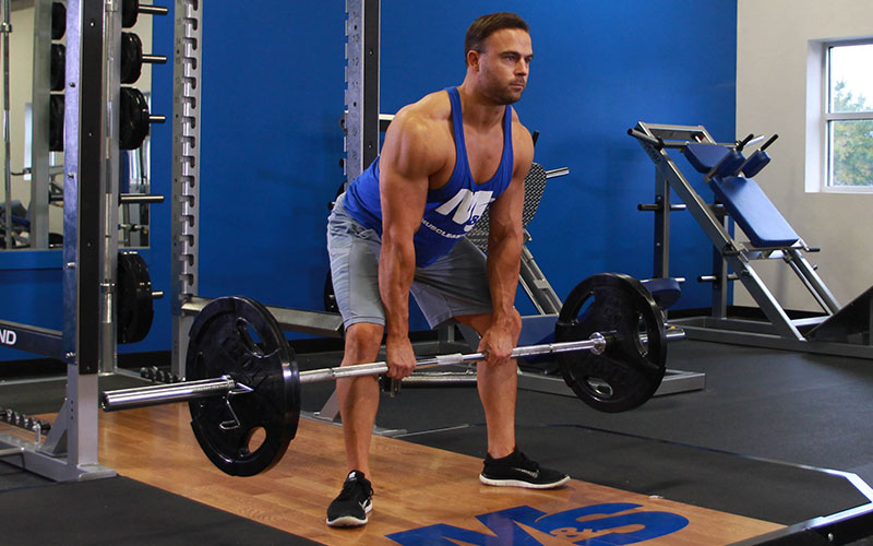 sumo rdl form  Barbell Sumo Romanian Deadlift: Video Exercise Guide & Tips
