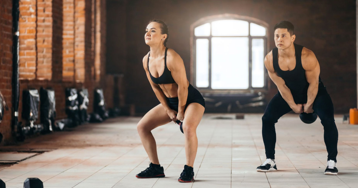 Upper/Lower (At Home) Kettlebell Workout
