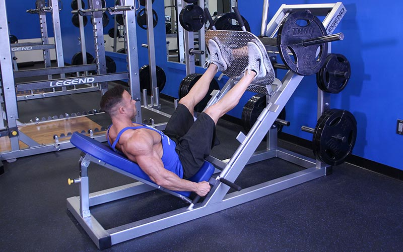 Wide Stance 45 Degree Leg Press: Video Exercise Guide & Tips