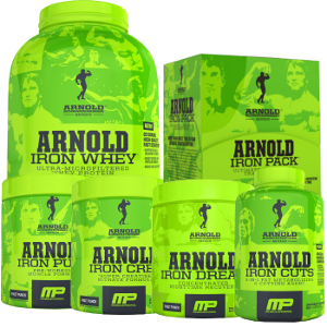 Complete Arnold Series Iron Stack