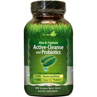 Irwin Naturals Active Cleanse and Probiotics