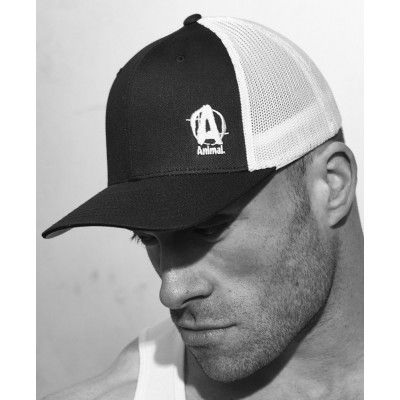 Black & White Flexfit Cap