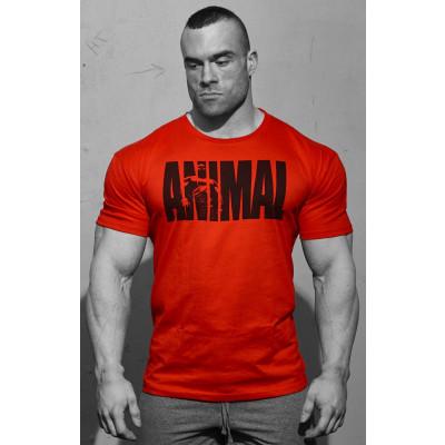 universal iconic t-shirt red medium
