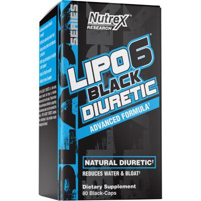 Nutrex Lipo-6 Black Diuretic