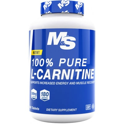 Muscle & Strength Nutrition 100% Pure L-Carnitine