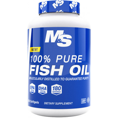 Muscle & Strength Nutrition 100% Pure Fish Oil