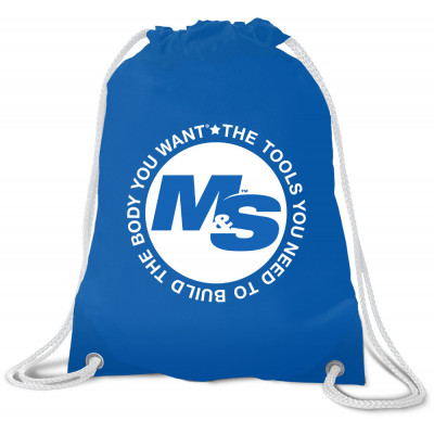 Muscle & Strength Iconic Drawstring Bag