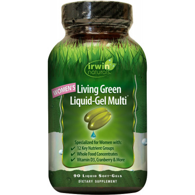 Irwin Naturals Living Green Multi for Women