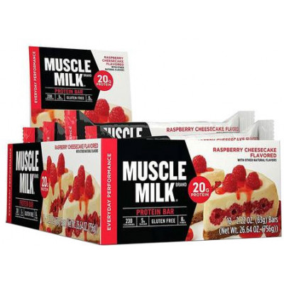 Muscle Milk Red/Blue Bars