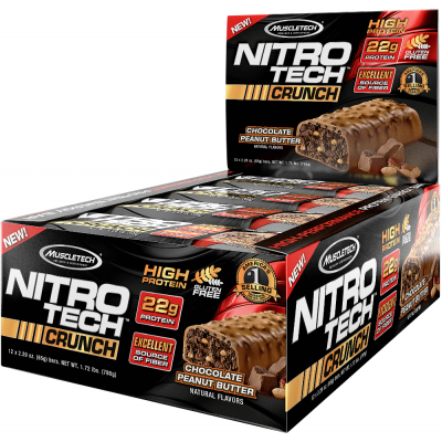MuscleTech Nitro-Tech Crunch Bars