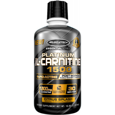 Platinum 100% L-Carnitine 1500