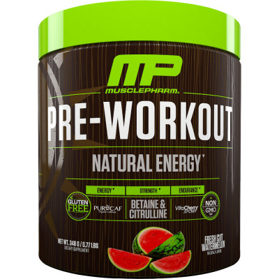 MusclePharm Natural Series Pre-Workout