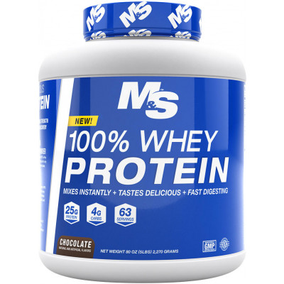 Muscle & Strength Nutrition 100% Whey Protein