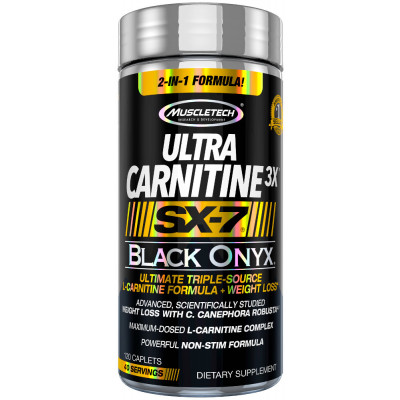 Ultra Carnitine 3x SX-7 BLack Onyx