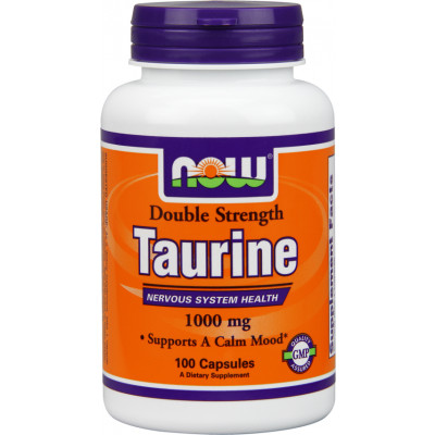 NOW Double Strength Taurine