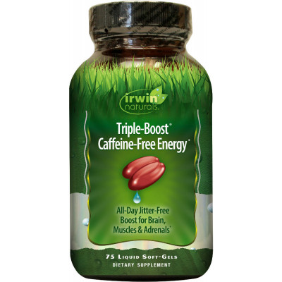 Irwin Naturals Triple Boost Caffeine Free Energy Reviews
