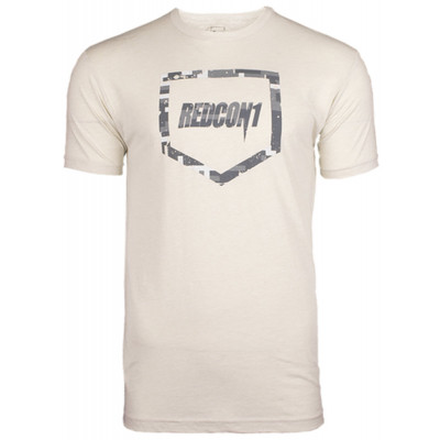 Shield Light Gray Camo T-Shirt