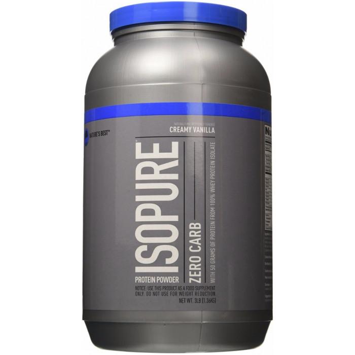 Nature's Best Isopure Zero Carb Protein
