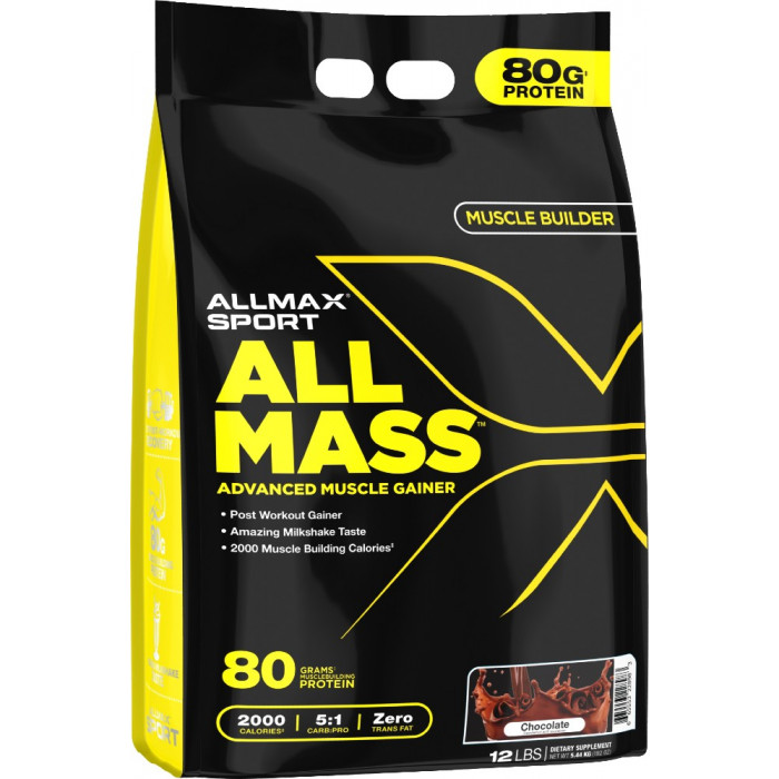 All Mass Advanced Muscle Gainer