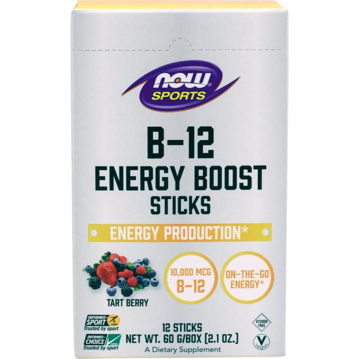 NOW B-12 Energy Boost Sticks