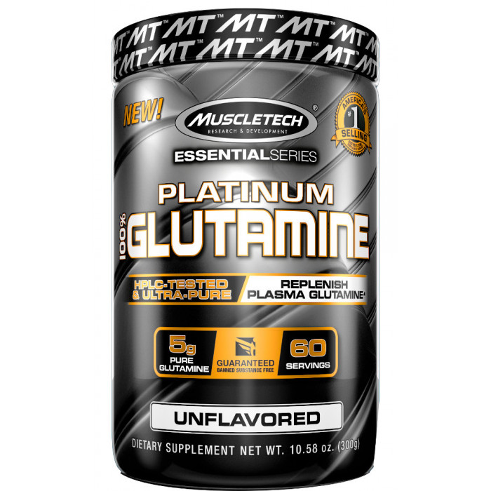 MuscleTech Platinum 100% Glutamine