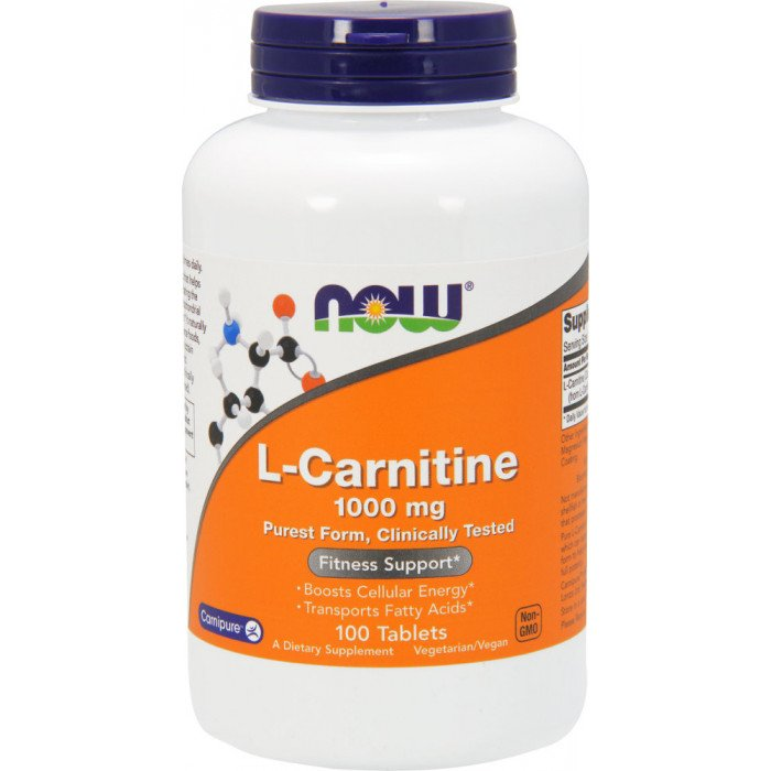 NOW L-Carnitine 1000mg Tablets