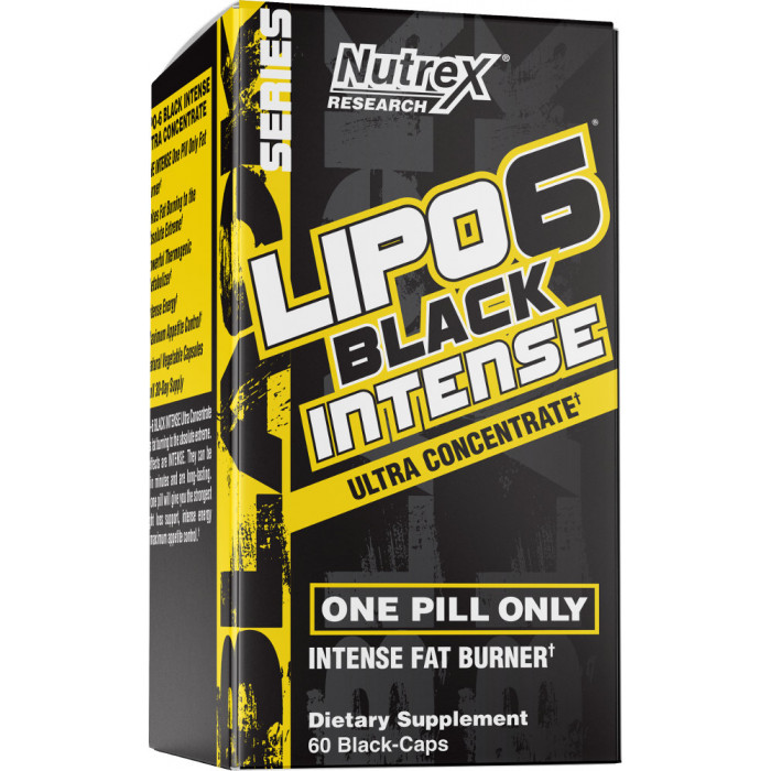 Nutrex Lipo-6 Black Intense Ultra Concentrate