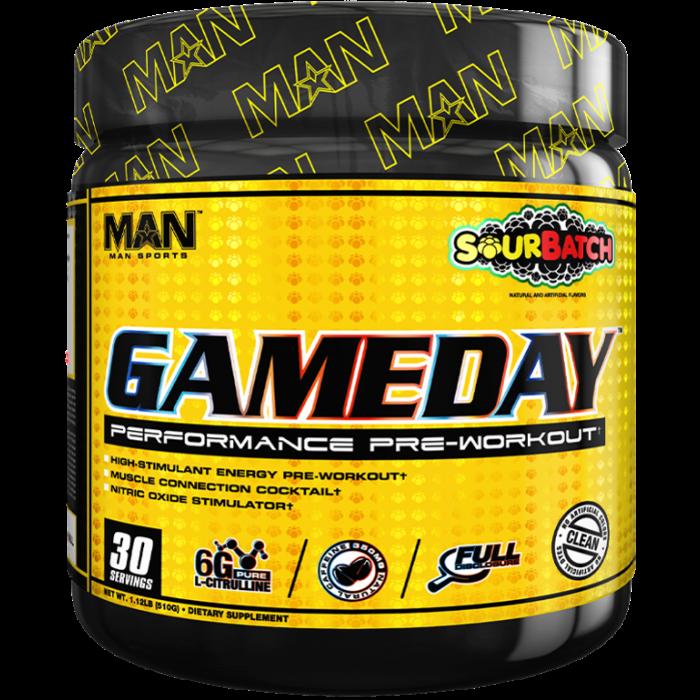 MAN Sports Game Day Pre-Workout
