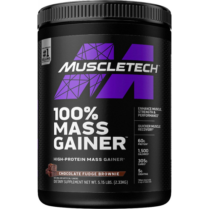 MuscleTech 100% Mass Gainer