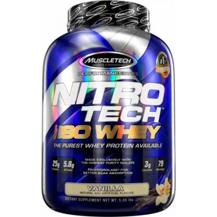 Nitro-Tech 100% ISO Whey