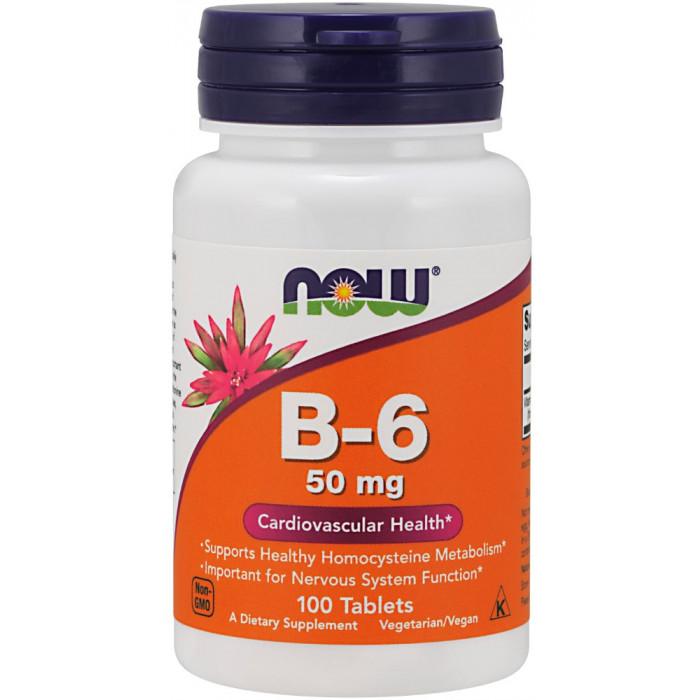 NOW Foods Vitamin B-6 50mg