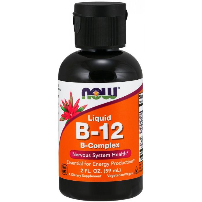 NOW Foods B-12 Complex Liquid