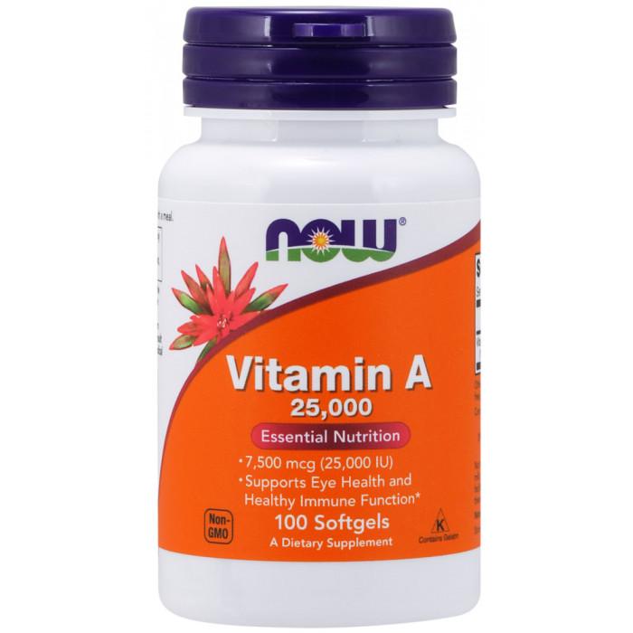 Vitamin A 25,000 Softgels