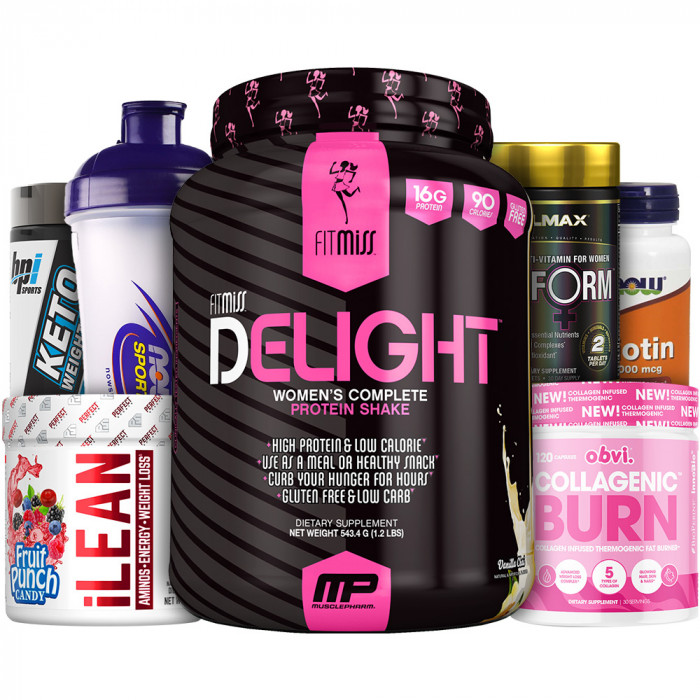 Women's Healthy & Fit Stack