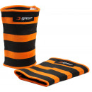 GASP Power Elbow Sleeves Medium Black/Flame